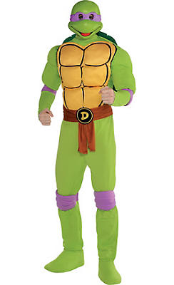 Adult Donatello Muscle Costume - Teenage Mutant Ninja Turtles