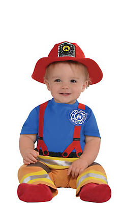 Baby First Fireman Costume