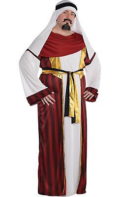 Adult Sahara Prince Costume Plus Size