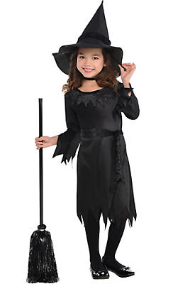 Toddler Girls Lil Witch Costume