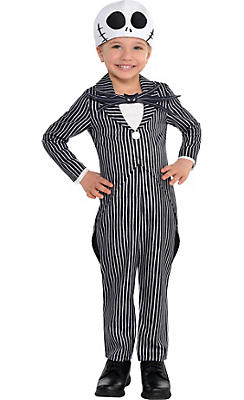 Toddler Boys Jack Skellington Costume - The Nightmare Before Christmas