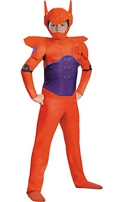 Boys Red Baymax Costume Classic - Big Hero 6