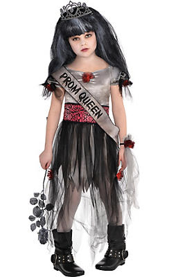 Little Girls Prom Corpse Costume