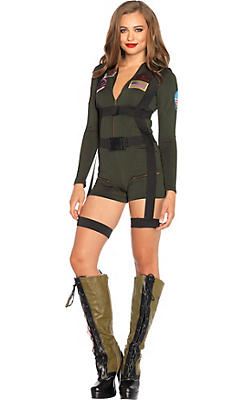 Adult Naval Pilot Costume - Top Gun