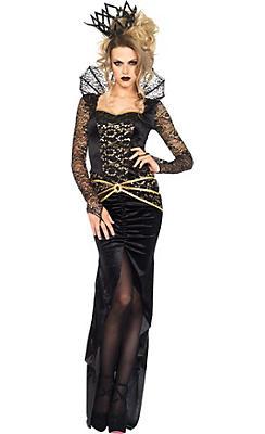 Adult Dark Evil Queen Costume Deluxe