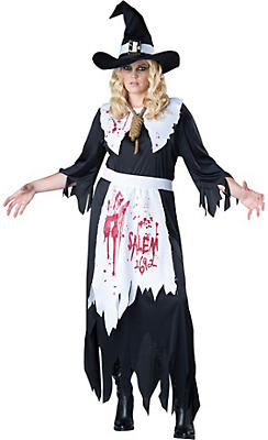 Adult Salem Witch Costume Plus Size