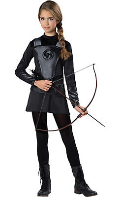 Girls Warrior Huntress Costume