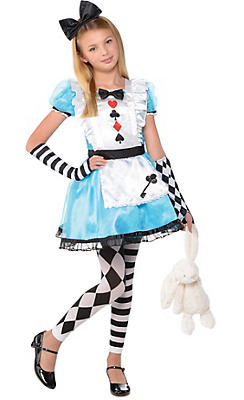 Party City Halloween Costumes For Boys girls raven queen costume supreme ever after high Girls Alice Costume