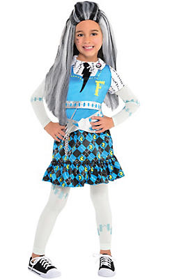Little Girls Frankie Stein Costume - Monster High