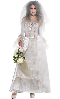 Adult Ghost Bride Costume
