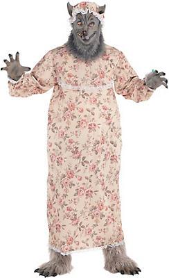 adult grandma wolf costume plus size - Size 18 Halloween Costumes