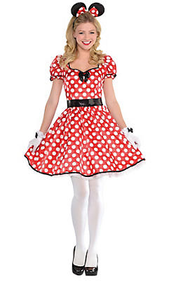 womens sassy minnie mouse costume - Party City Store Costumes