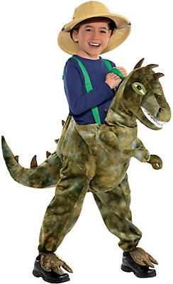 Child Dinosaur Ride-On Costume