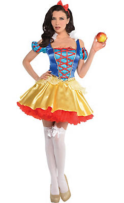 Adult Snow White Costume - Snow White and the Seven Dwarfs