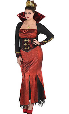 Adult Queen Vampire Costume Plus Size