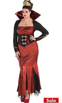 Adult Queen Vampire Costume Plus Size