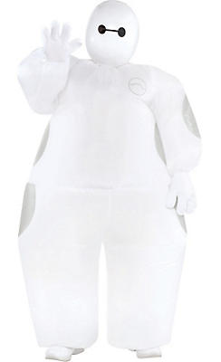 Boys Inflatable Baymax Costume - Big Hero 6
