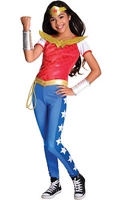 Girls Wonder Woman Costume - DC Super Hero Girls