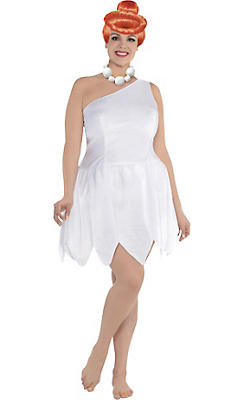 Adult Wilma Flintstone Costume Plus Size - The Flintstones