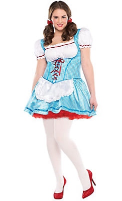 Adult Dorothy Costume Plus Size - The Wizard of Oz