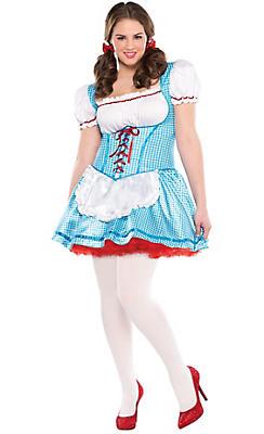 quick shop adult dorothy costume - Dorothy Halloween Costume Women