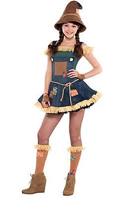 Teen Halloween Costume Ideas teen girls dark angel costume Teen Girls Wizard Of Oz Scarecrow Costume