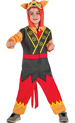 Boys Blazion One Piece Costume - Yo-Kai Watch