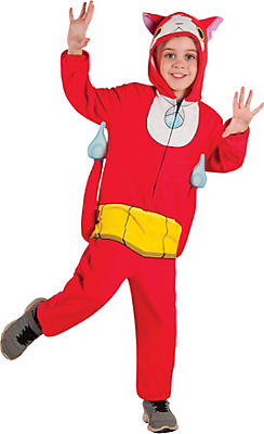 Little Boys Jibanyan One Piece Costume - Yo-Kai Watch