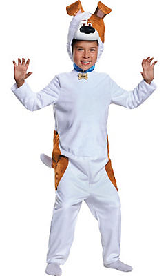 Boys Max Costume - The Secret Life of Pets
