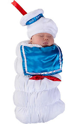 Baby Bunting Stay Puft Marshmallow Man Costume - Ghostbusters