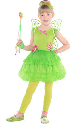 Girls Tinker Bell Costume - Peter Pan
