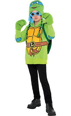 Boys Leonardo Costume Deluxe - Teenage Mutant Ninja Turtles