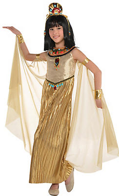 girls golden goddess costume - City Party Halloween Costumes