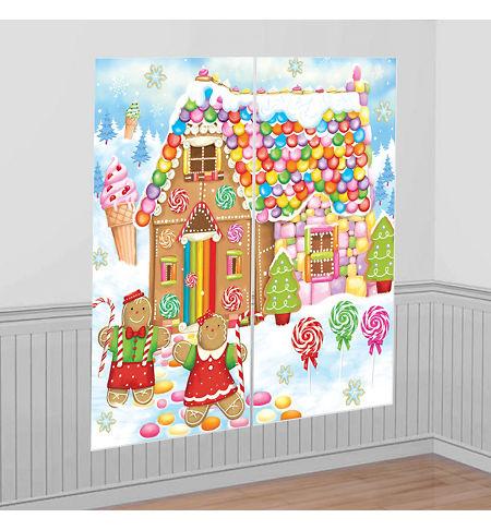 Christmas Scene Setters - Christmas-Themed Vinyl Wall ...