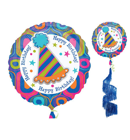 Party Streamers Birthday Balloons - Party City