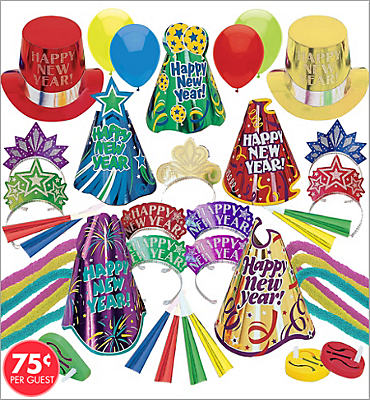 Midnight Madness New Years <span class=messagesale><br><b>Party Kit For 100</b></br></span>