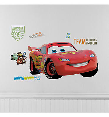 Cars Lightning McQueen Wall Decals