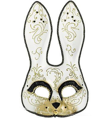 Venetian Bunny Masquerade Mask