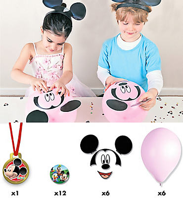 Build Mickey's Head Party Game - Mickey Mouse