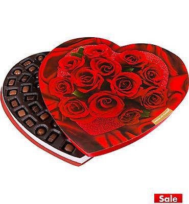 Giant Heart Box of Chocolates 72pc