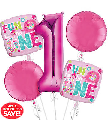 One Wild Girl Balloon Bouquet No 1