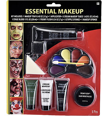Halloween Makeup Essentials Kit 9pc