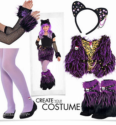 Girls' Monster High Furry Monster