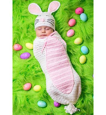 Baby Crochet Cocoon Bunny Costume