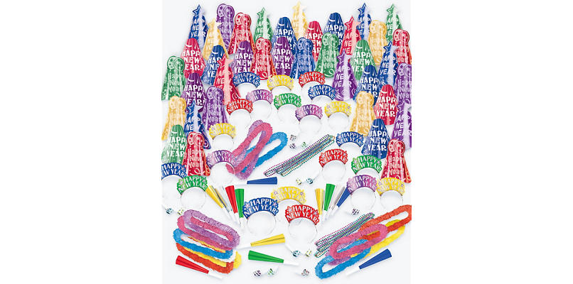 Kit For 200 - Fantasy - Colorful New Year's Party Kit