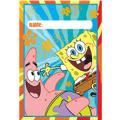 SpongeBob Favor Bags 8ct