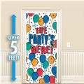 Balloon Party Plastic Door Decoration