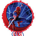 Pull String Spider-Man Pinata 17in