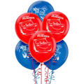Latex Disney Cars Balloons 12in 6ct