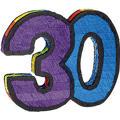 Number 30 Pinata